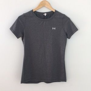 Gray Under Armour Crew Neck T-shirt, size XSmall